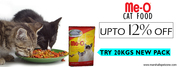 Me-o Cat Food: Upto 12%OFF: Try 20Kgs New Pack